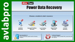 MiniTool Power Data Recovery 6 Free
