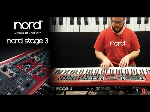 NORD MUSIKMESSE NEWS 2017   NEW NORD STAGE 3