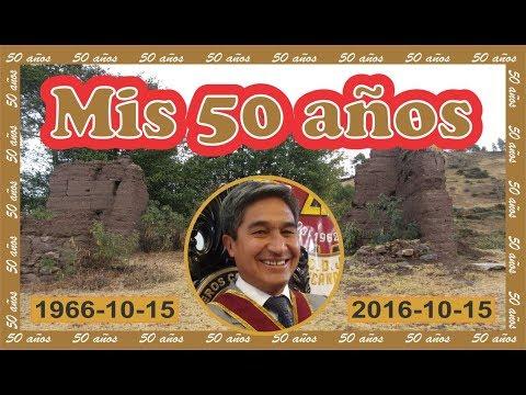 FIESTA DE 50 AÑOS. CUMPLEAÑOS DE RUBÉN GALEAS ARANA.