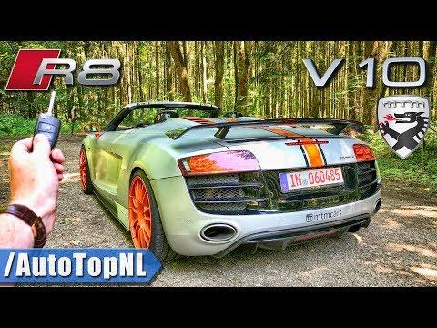 Audi R8 V10 Spyder MTM REVIEW POV on ROAD & AUTOBAHN by AutoTopNL