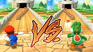 Mario Party 9 MiniGames - Mario vs Yoshi (Master Difficulty)
