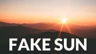 Flat Earth: Fake Sun by Sun Simulator, Dome, The Real Truman Show