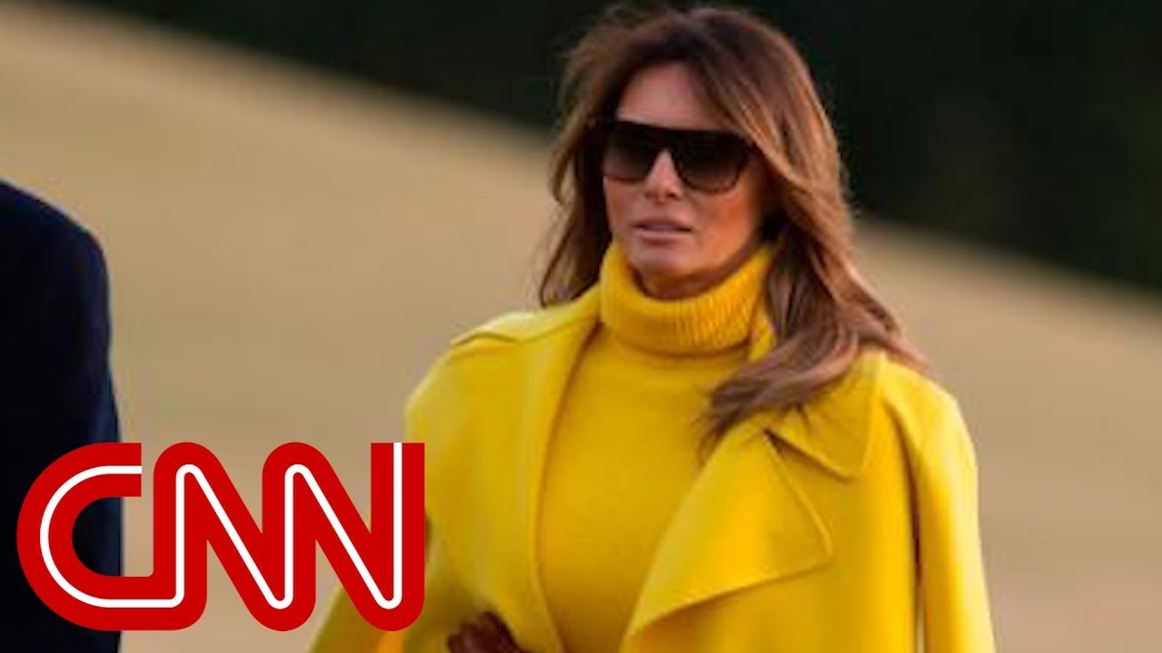 How Melania Trump Is Handling Stormy Daniels News - Youtube-2608