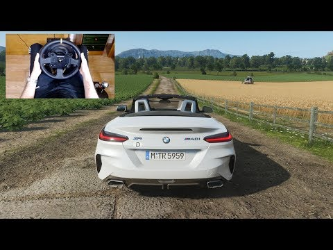 Forza Horizon 4 - 2020 BMW Z4 M40i - Test Drive With THRUSTMASTER TX + TH8A - 1080p60FPS