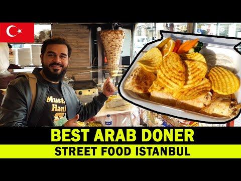 BEST ARAB DONER IN ISTANBUL | TURKEY STREET FOOD