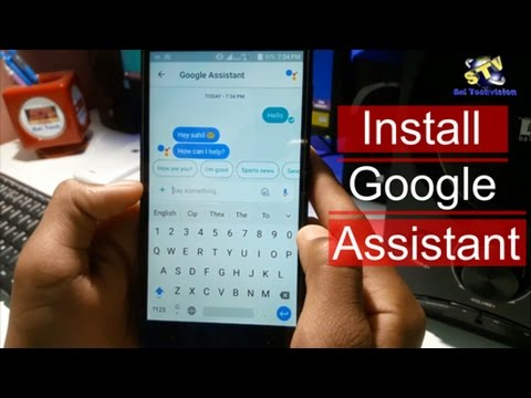 How to install Google Assistant and Talk in Hindi