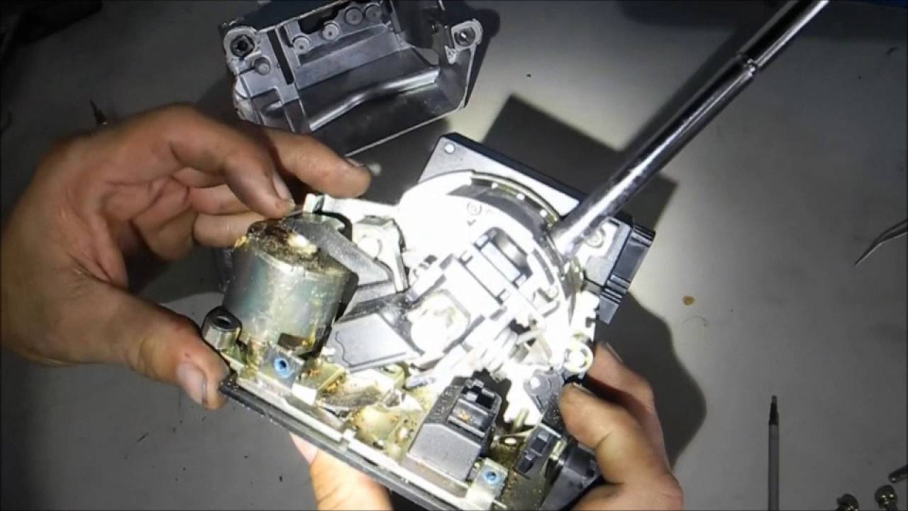 Mercedes Benz Shifter Selector Lever (Park Lock Lever) Repair Video  YouTube