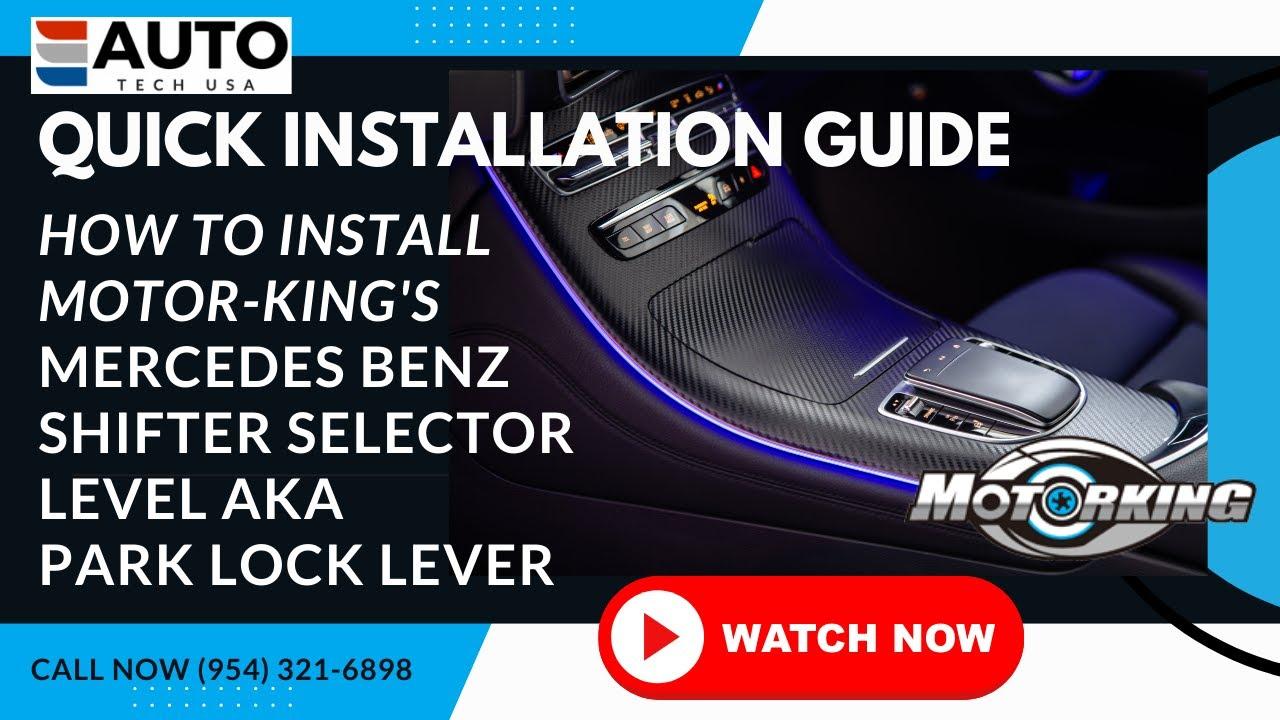 Mercedes Benz Shifter Selector Lever (Park Lock Lever
