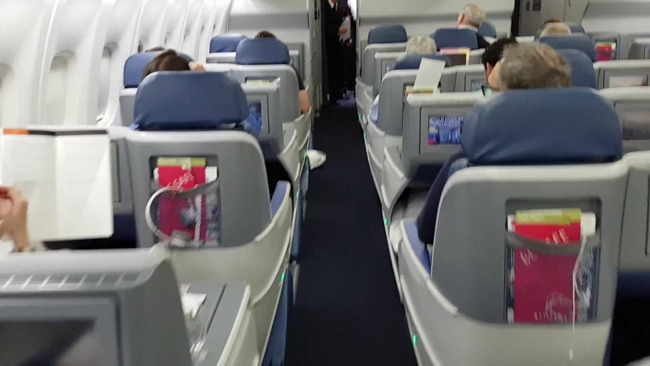 Cabine classe executiva delta one 767 rota jfk gru 12 for Migliori cabine business class 2017
