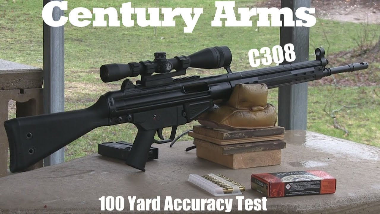 Century Arms C308 First Accuracy Test