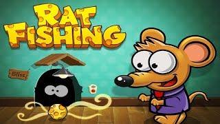 Мышка Воришка Rat Fishing 1 Выманиваем мышек сыром из норок Логическая загадка