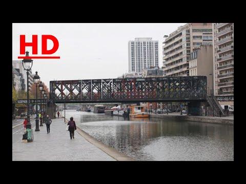 Paris : trois enfants poussés dans le canal de l'Ourcq pour leurs téléphones