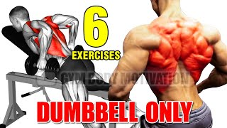 6 BEST BACK WITH DUMBELLS ONLY