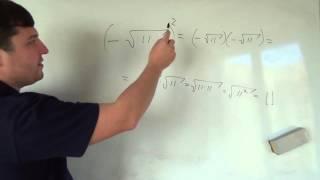 Алгебра 8 класс. 24 октября. квадратный корень #5