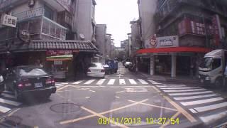 發生在南京東路巷子的離奇車禍