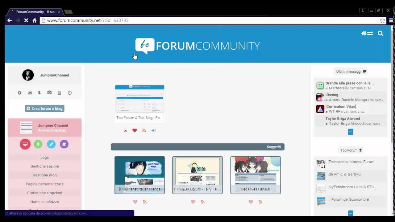 Tutorial come creare un forum gratis e facile da usare for Programma per creare cucine gratis