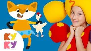КУКУТИКИ - КОЛОБОК - Песенка сказка для детей, малышей - Kids Fairy Song