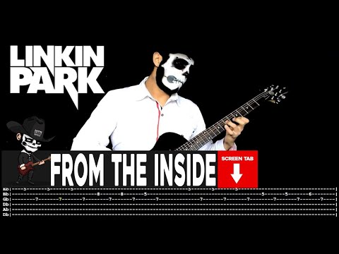 Linkin Park - From The Inside  (Guitar Cover by Masuka W/Tab)