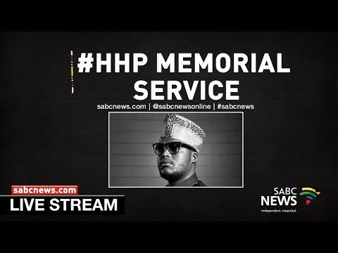 """Memorial service for Jabulani """"HHP"""" Tsambo"""