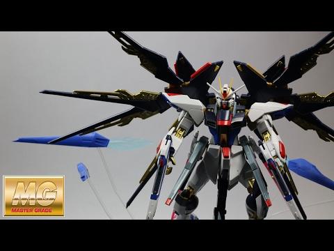MG 1/100 Strike Freedom Gundam Full Burst Mode Model Kit (Fast Build)