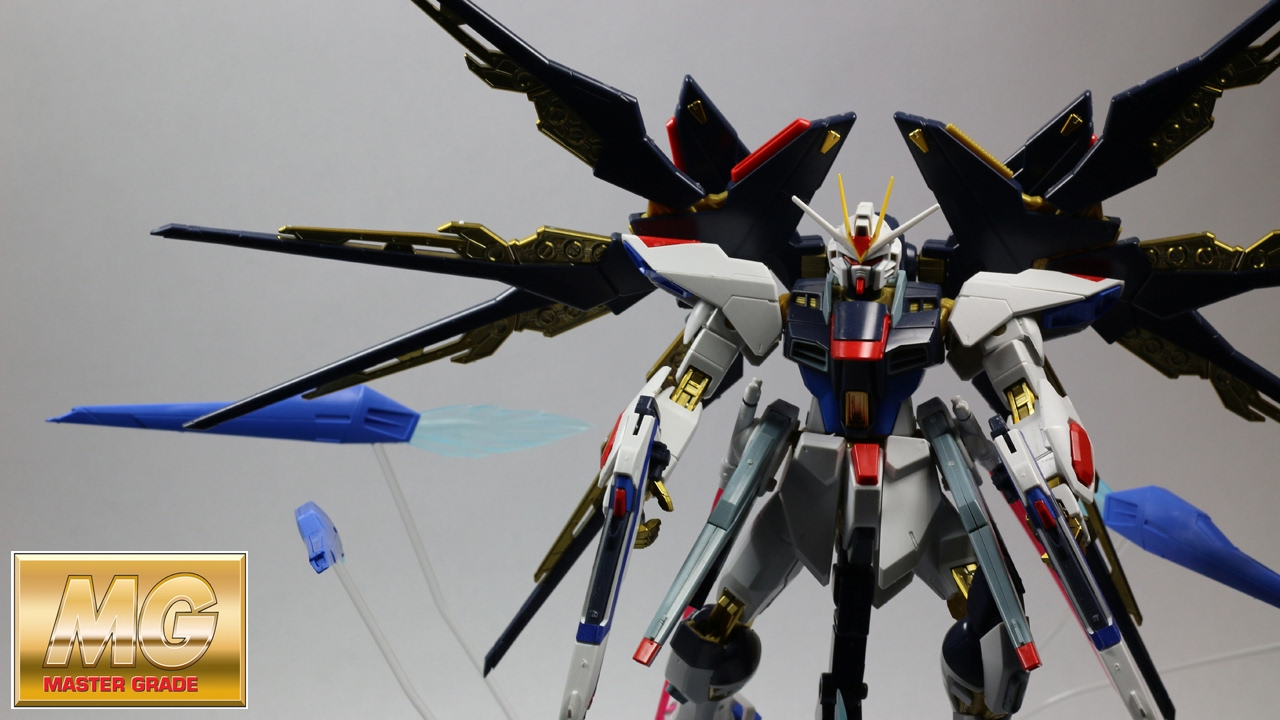 Exceptional Gundam Strike Freedom Full Burst Mode Pictures