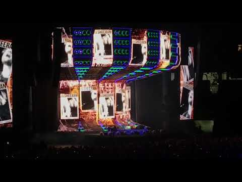 A few clips from Ed Sheeran Divide Stadium Tour Oct. 6th 2018 Nissan Stadium Nashville Tennessee