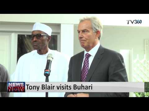 Tony Blair visits Buhari