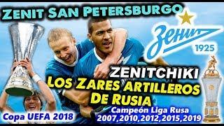 ZENIT SAN PETERSBURGO - Zenitchiki, los Zares artilleros de Rusia - Clubes del Mundo (España)