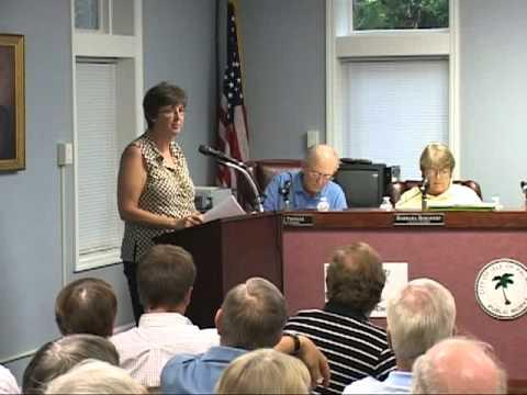 7/26/11, Public Hearing, Isle of Palms, South Carolina