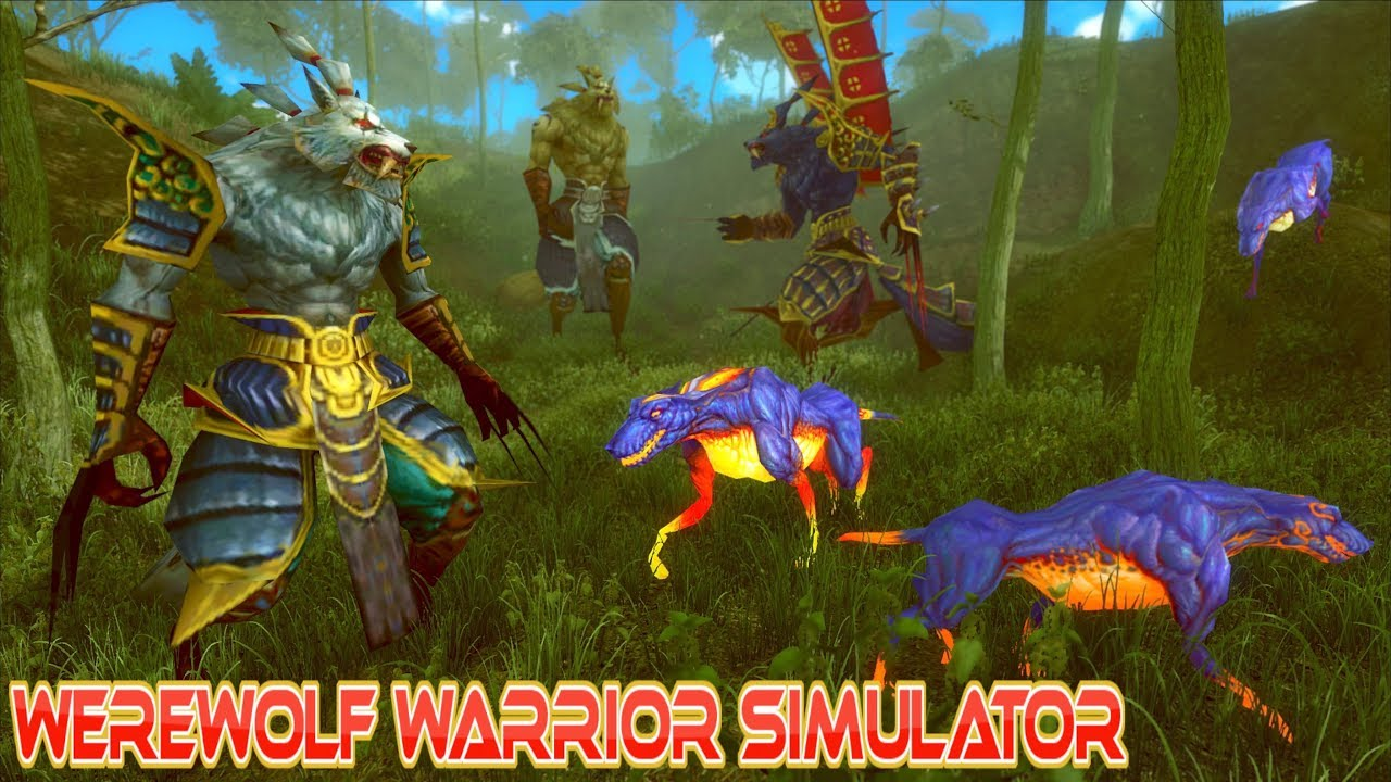 Werewolf Simulator Games