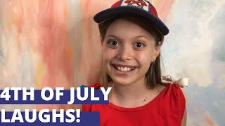 Homemade Family Fun Episode 72 [4th of July Laughs]