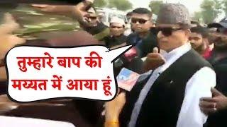 Azam Khan सुधरने वाले नहीं, Jaya Prada के बाद अब Reporter से की बदसलूकी