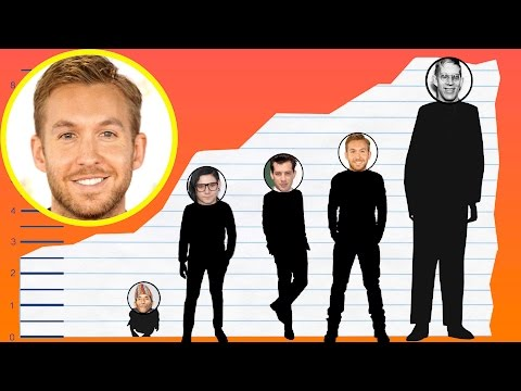 How Tall Is Calvin Harris? - Height Comparison!