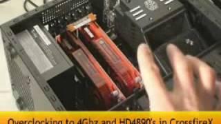 ati 5870 x2 quad crossfire versus nvidia gtx 300 quad sli