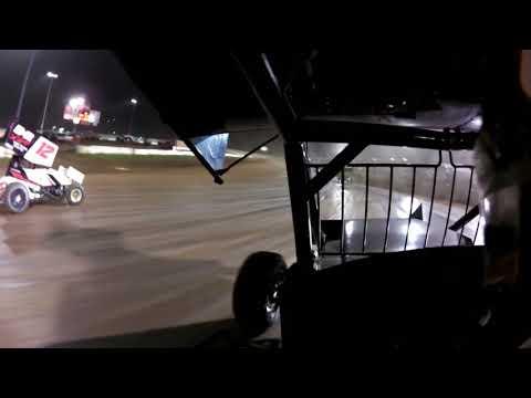 Lernerville Speedway Allegheny Sprint Tour Racesaver 305 Feature #19 In Car 10/13/18