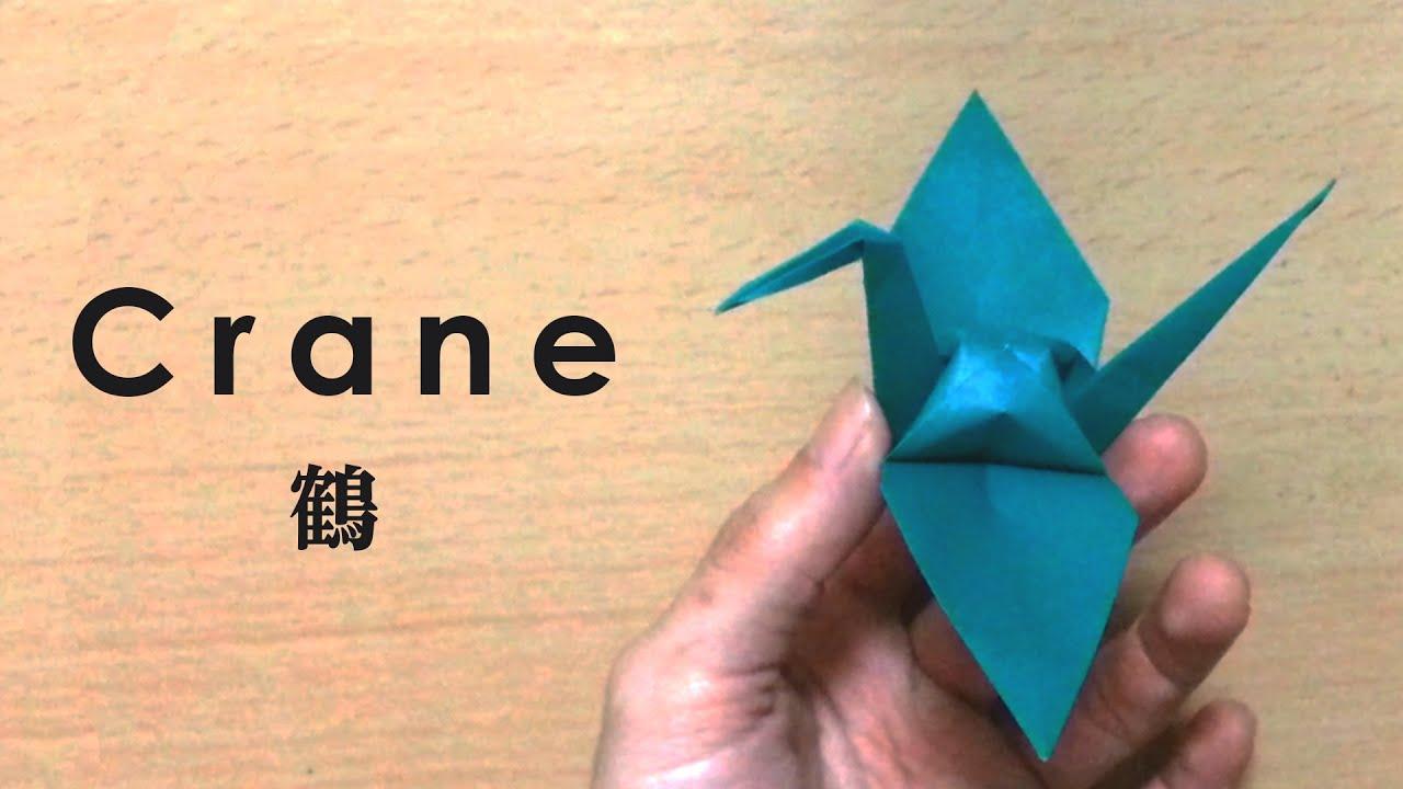 Origami Crane | Origami cisne, Instrucciones de origami, Pajaros ... | 720x1280