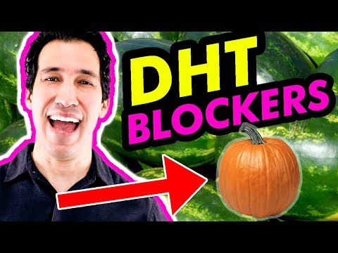🚫 Natural DHT Blocker Foods For HAIR LOSS   How To Reduce DHT For Balding (Supplements & Vitamins)
