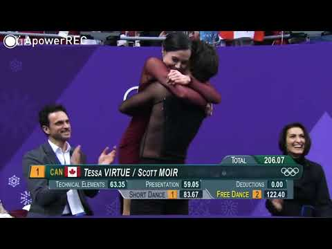 Tessa Virtue and Scott Moir wins GOLD MEDAL at WINTER OLYMPICS||