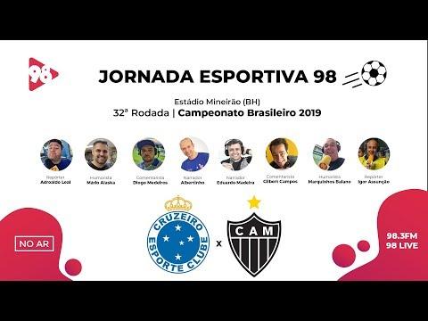 CRUZEIRO x ATLÉTICO | BRASILEIRÃO | RÁDIO 98FM AO VIVO