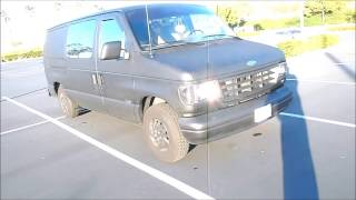 Flat Black Bed liner Rustoleum Budget Paint Job whole vehicle Less then $200 Murdered out