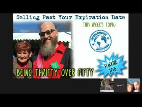 Selling Past Your Expiration Date Episode 3 - International Shipping & Peg Haul