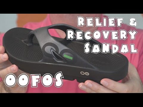 OOFOS Relief and Recovery Sandals Review | EpicReviewGuys CC