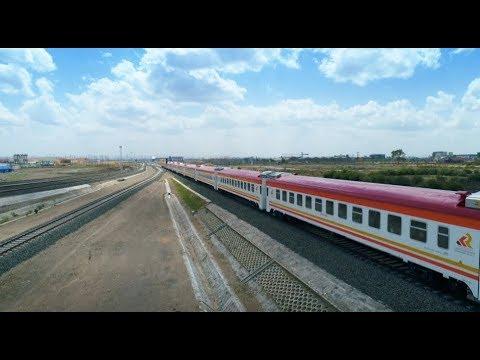 Amazing China: China Helps Kenya Own Standard Gauge Railway from Nairobi to Mombasa