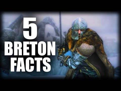 Skyrim - 5 Breton Facts