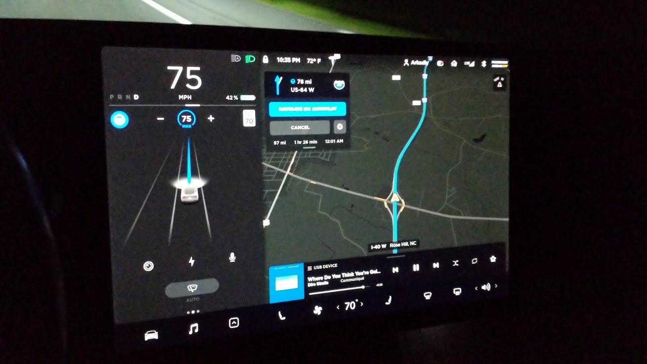 Tesla Model 3 LR 2018 premium audio - YouTube