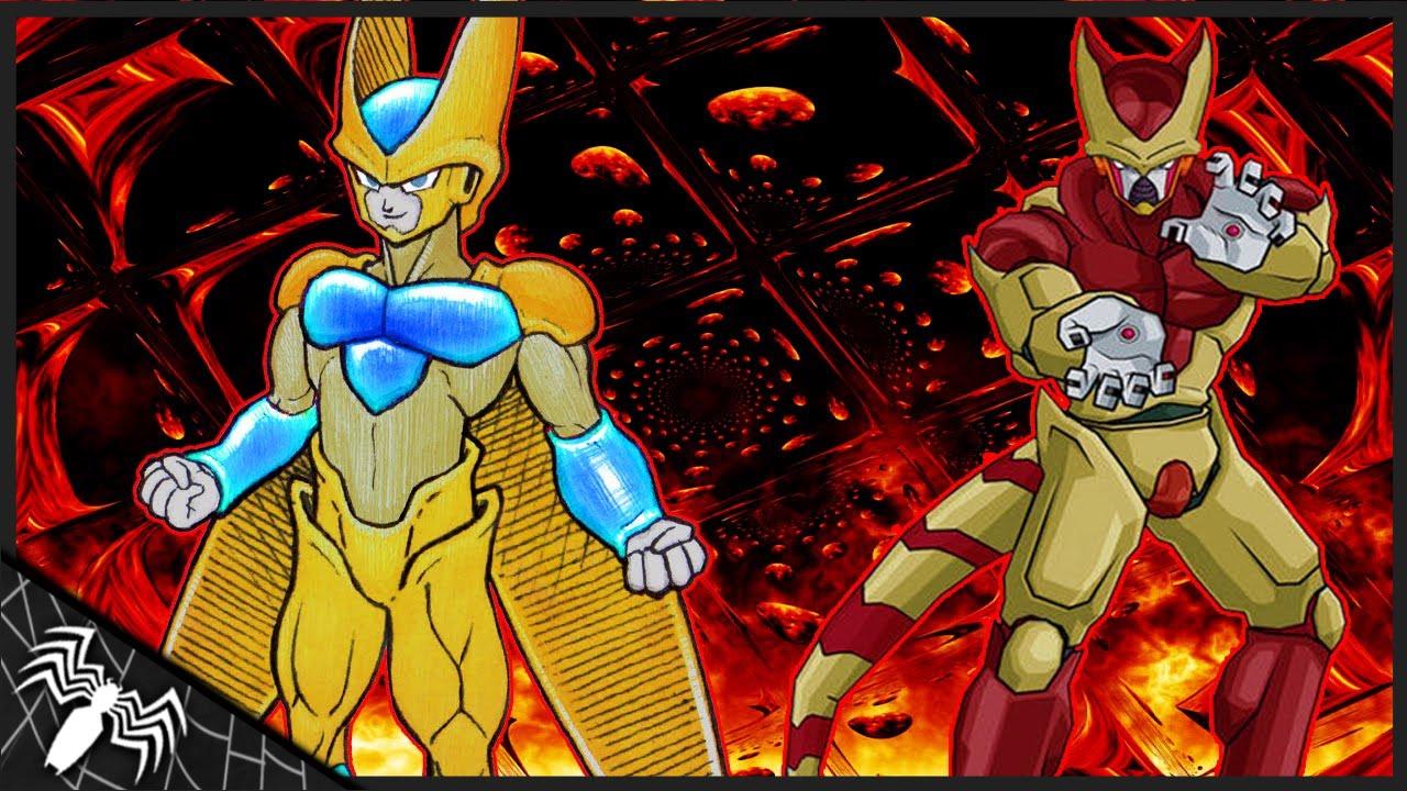Golden cell super saiyajin demonio teoria youtube - Super cell dbz ...