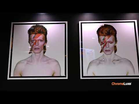 David Bowie Exhibition - On ChromaLuxe