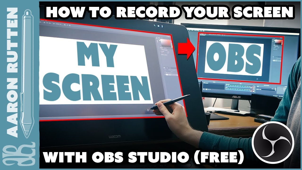 How to RECORD YOUR SCREEN for Free with OBS Studio