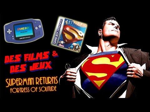 Des Films & des Jeux - Superman Returns: Fortress of Solitude (GBA)
