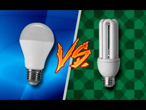 Comparativo l mpada led fluorescente dicas flash youtube for Lampada alogena lineare led